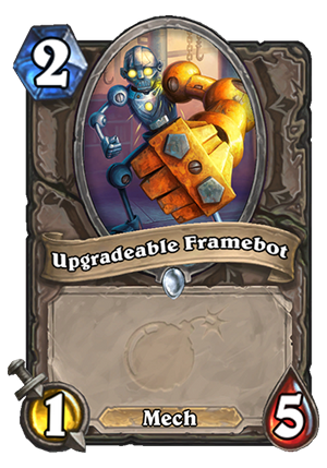 Upgradeable Framebot Card