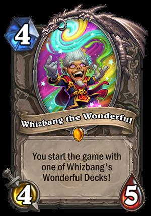 Whizbang the Wonderful Card