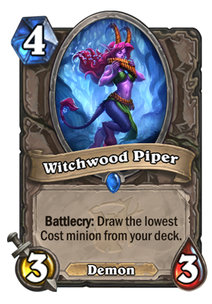 Witchwood Piper Card