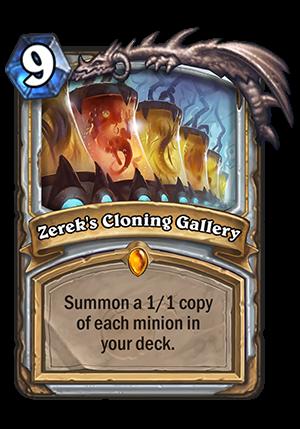Zerek's Cloning Gallery Card