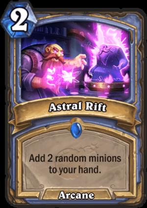 Astral Rift Card