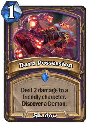 Dark Possession Card