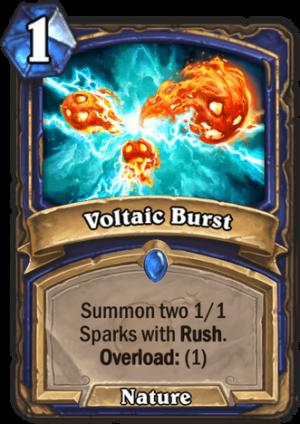 Voltaic Burst Card