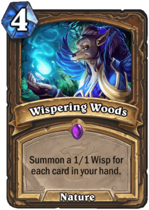Wispering Woods Card