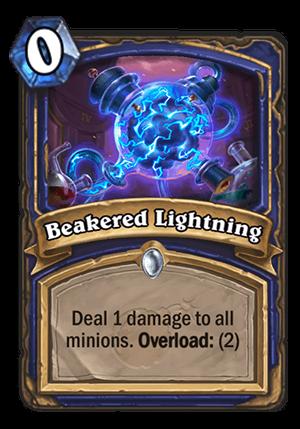 Beakered Lightning Card