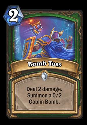 Bomb Toss Card