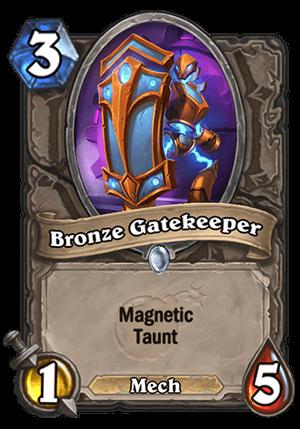 Bronze Gatekeeper Card