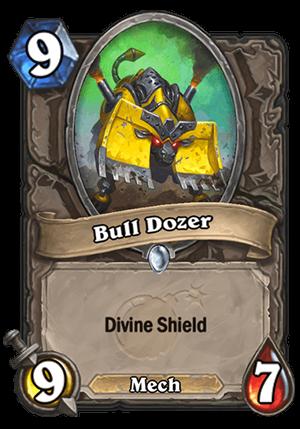 Bull Dozer Card
