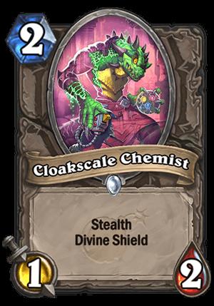 Cloakscale Chemist Card