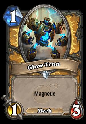 Glow-Tron Card