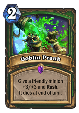 Goblin Prank Card