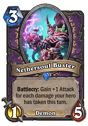Nethersoul Buster Card