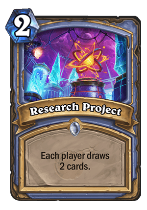 Research Project Card