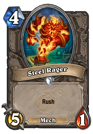 Steel Rager Card