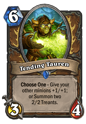 Tending Tauren Card