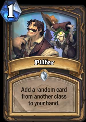 Pilfer Card