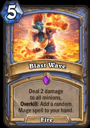 Blast Wave Card