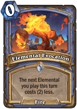 Elemental Evocation Card