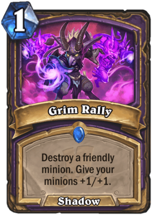 Grim Rally Card