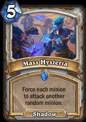 Mass Hysteria Card
