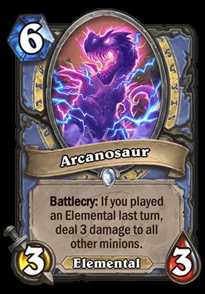 Arcanosaur Card