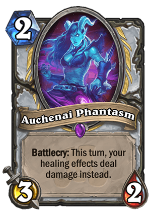 Auchenai Phantasm Card