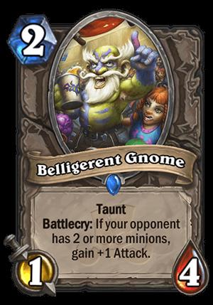 Belligerent Gnome Card