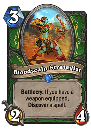 Bloodscalp Strategist Card