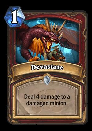 Devastate Card