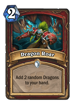 Dragon Roar Card