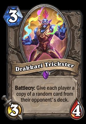 Drakkari Trickster Card