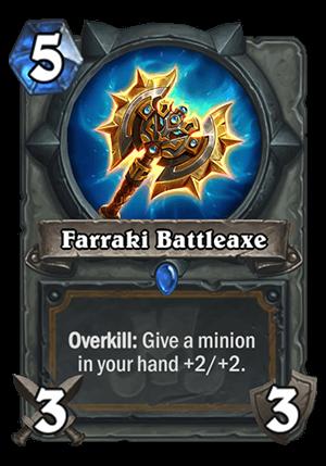 Farraki Battleaxe Card