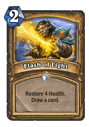 Flash of Light Card