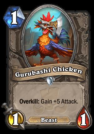 Gurubashi Chicken Card