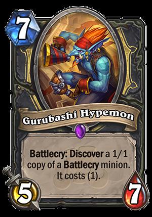 Gurubashi Hypemon Card