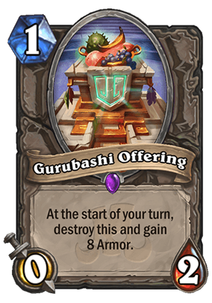 Gurubashi Offering Card