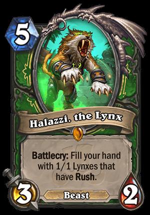 Halazzi, the Lynx Card