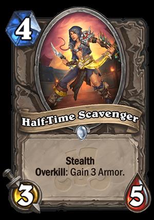 Half-Time Scavenger Card