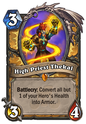 High Priest Thekal Card