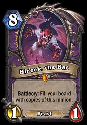 Hir'eek, the Bat Card