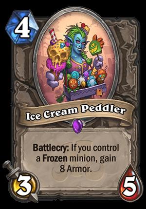 Ice Cream Peddler Card
