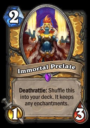 Immortal Prelate Card