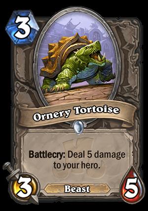 Ornery Tortoise Card