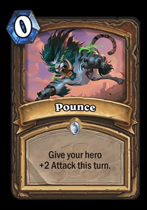 Pounce Card