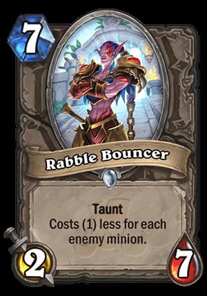 Rabble Bouncer Card