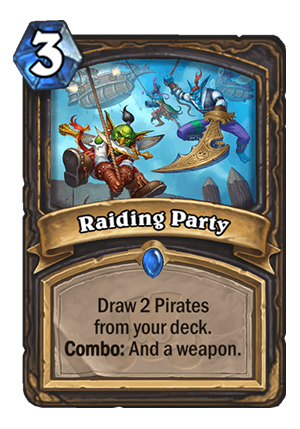 Raiding Party Card
