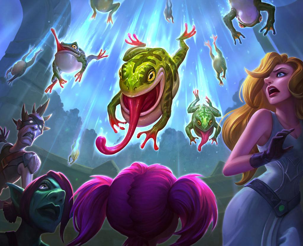 Rain of Toads Full Art