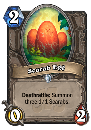 Scarab Egg Card