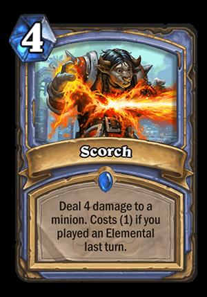 Scorch Card