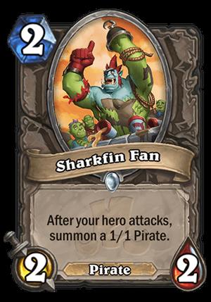 Sharkfin Fan Card